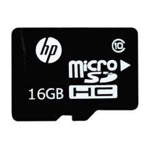 حافظه میکرو اس دی HP کلاس 10 به همراه آداپتر با ظرفیت 16 گیگابایت