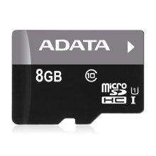 کارت حافظه microSDHC ای دیتا کلاس 10 استاندارد ظرفیت 8 گیگابایت