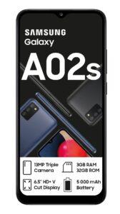 001 - سامسونگ 64GB/4GB A02s