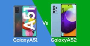 Galaxy A51 و Galaxy A52