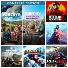 اکانت قانونی ترکیبی برای PS4 ظرفیت 3