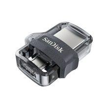 فلش SanDisk مدل Dual Drive ظرفیت 64GB USB 3.0