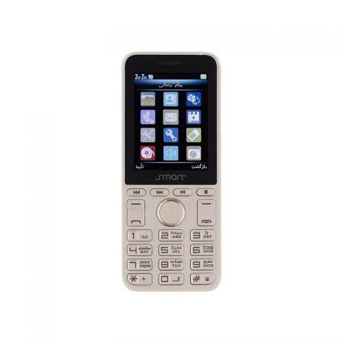 گوشی دو سیم اسمارت مدل Smart E2488 Quick به همراه گارد و گلس