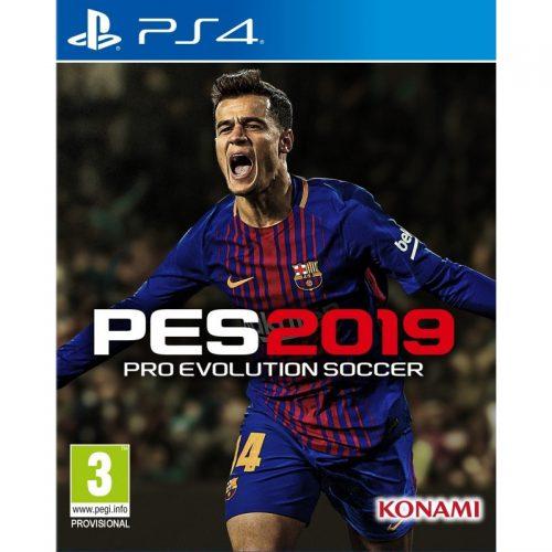 اکانت قانونی PES 2019 برای PS4 ظرفیت 3